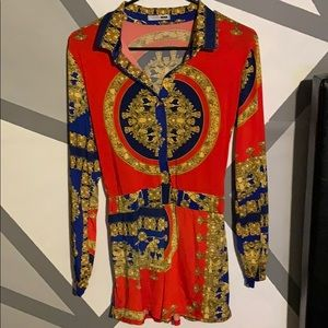 Pure Royalty Romper